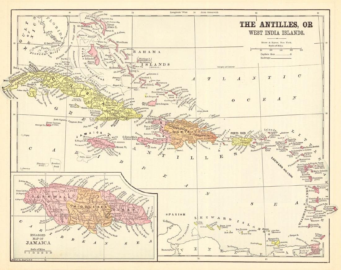 Antilles, Or West India Islands
