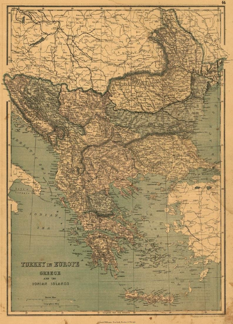 Turkey in Europe Greece and the Ionian Islands