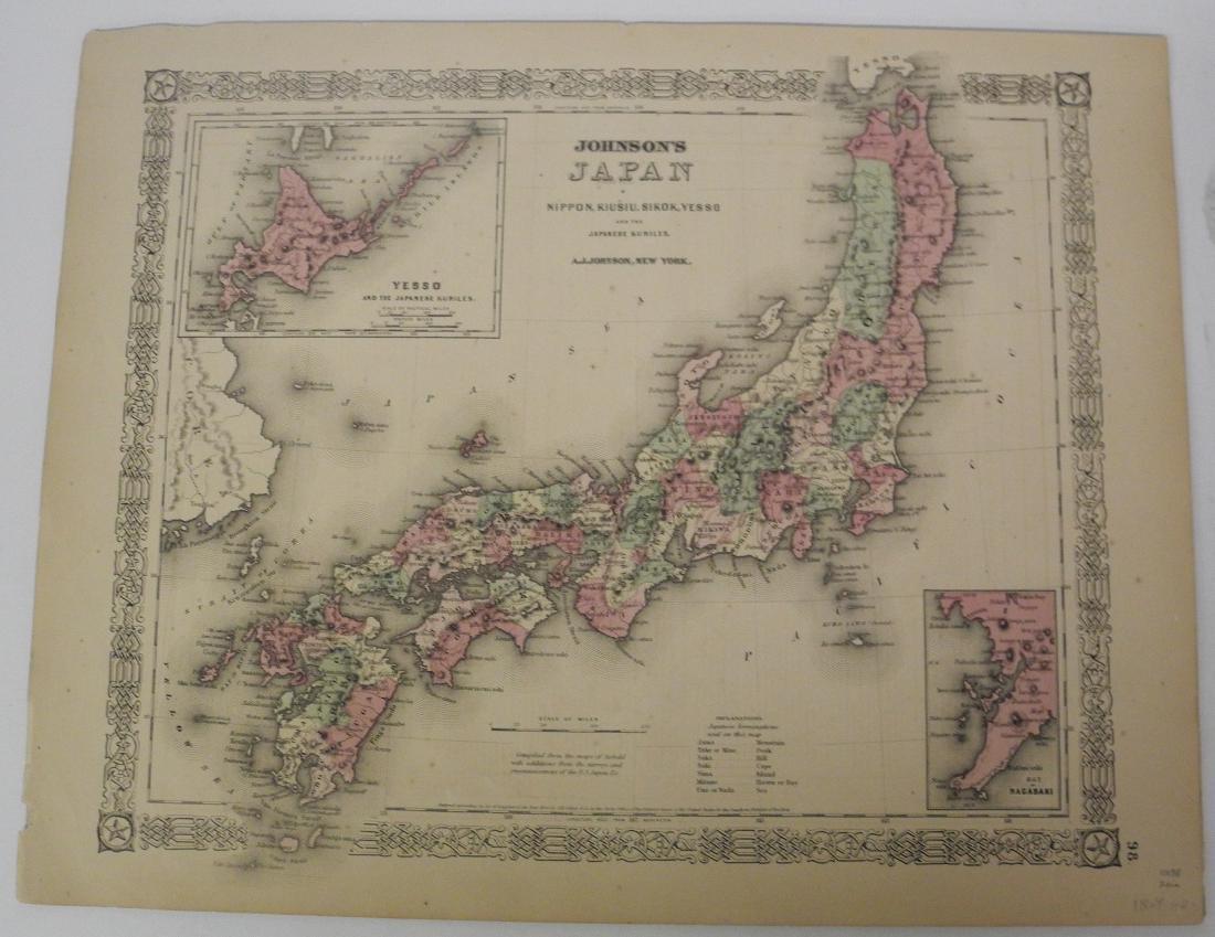 Johnson's Japan Nippon, Kiusiu, Sikok, Yesso and the