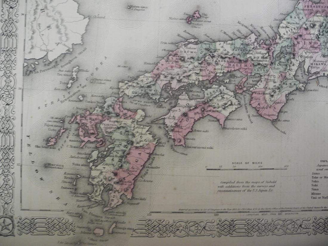 Johnson's Japan Nippon, Kiusiu, Sikok, Yesso and the - 2