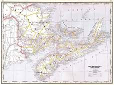 New Brunswick & Nova Scotia.