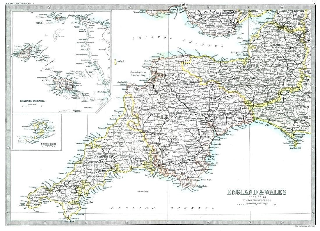 England & Wales (Section 6) [Cornwall And Southwest