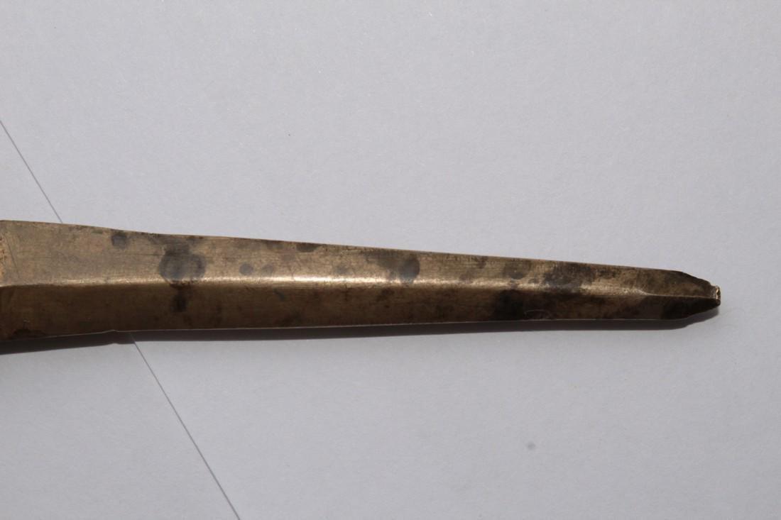 Post-medieval Poland Bronze Postal Knife for Opening - 6