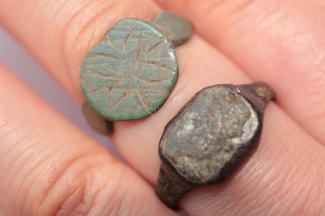 Medieval Bronze Rings (2) - 2