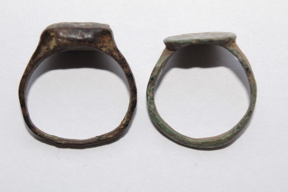 Medieval Bronze Rings (2) - 3