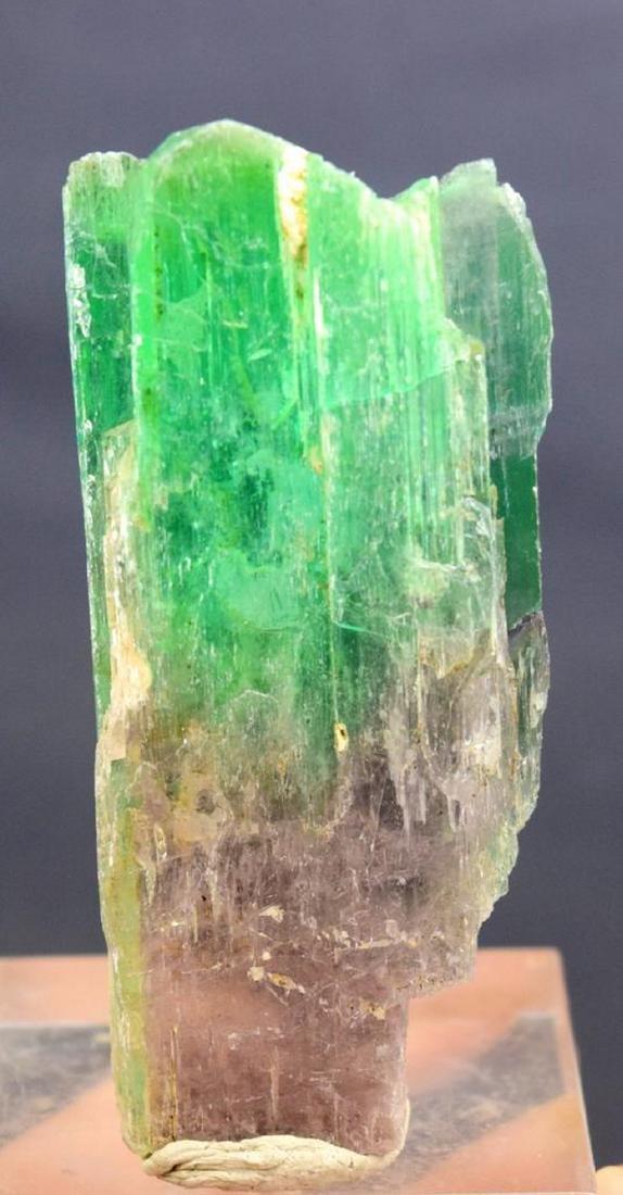 100 Gram terminated and undamaged bi color kuznite - 2