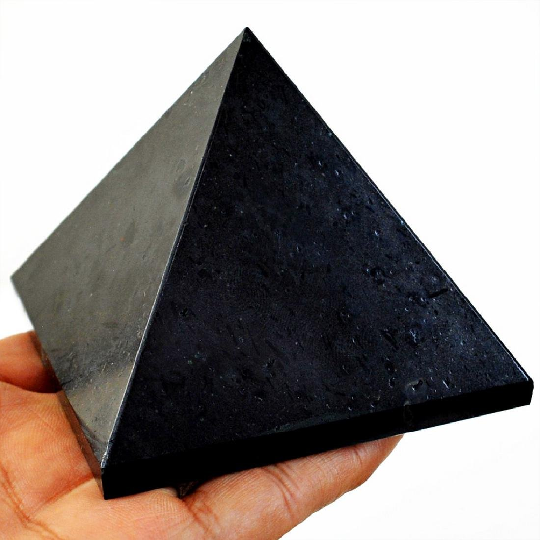 Top Quality Black Tourmaline Healing Pyramid