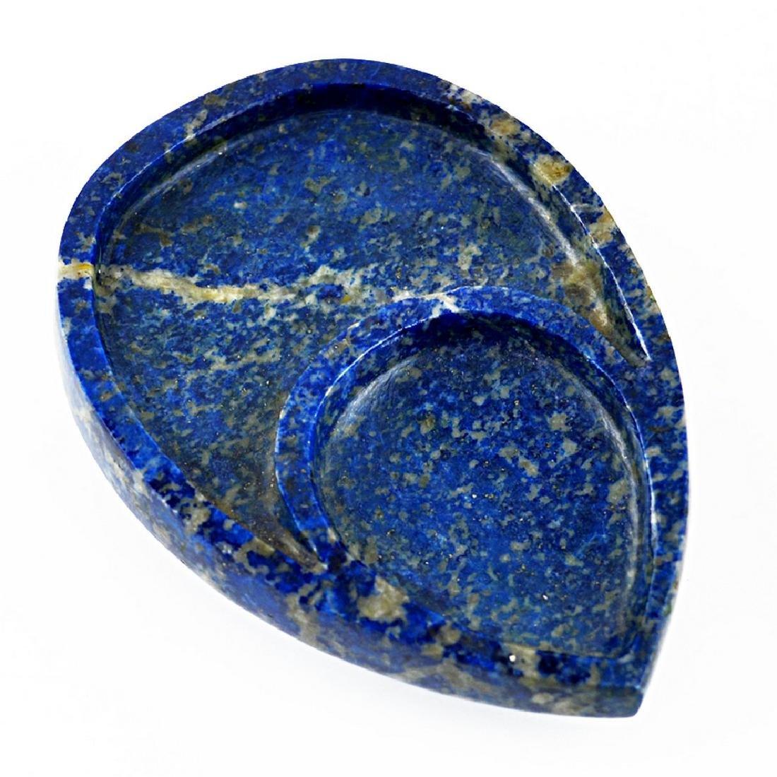 Unique Lapis Lazuli Candle Stand - 4