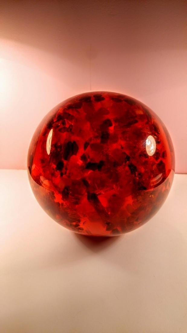 Big Composite Baltic Amber Sphere - 1,805 kg - 3