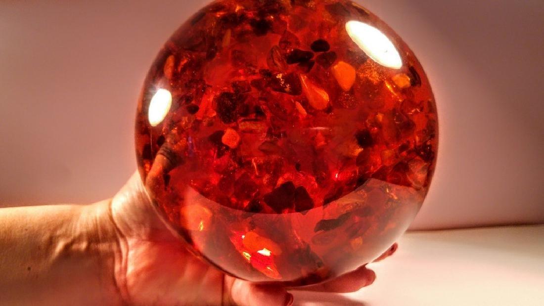 Big Composite Baltic Amber Sphere - 1,805 kg - 5