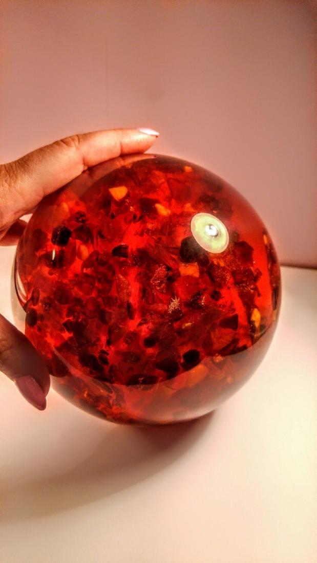 Big Composite Baltic Amber Sphere - 1,805 kg - 6