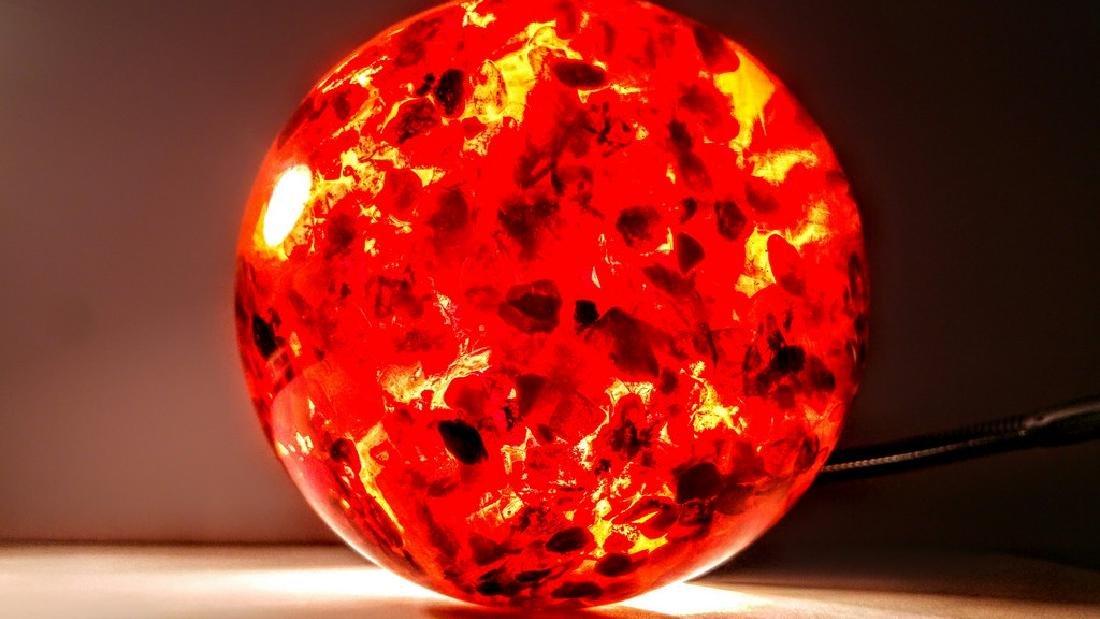 Big Composite Baltic Amber Sphere - 1,805 kg - 7