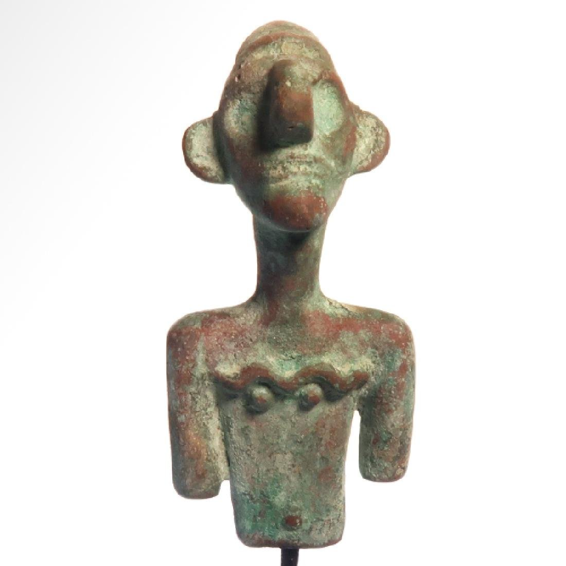 Canaanite Bust of a Deity, c. 2nd Millennium BC