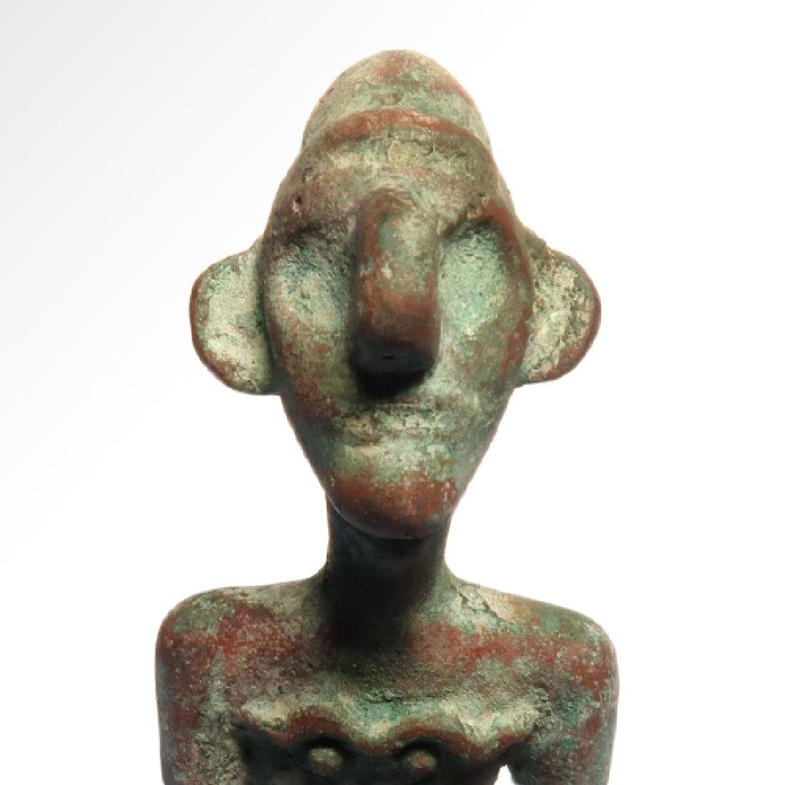 Canaanite Bust of a Deity, c. 2nd Millennium BC - 2