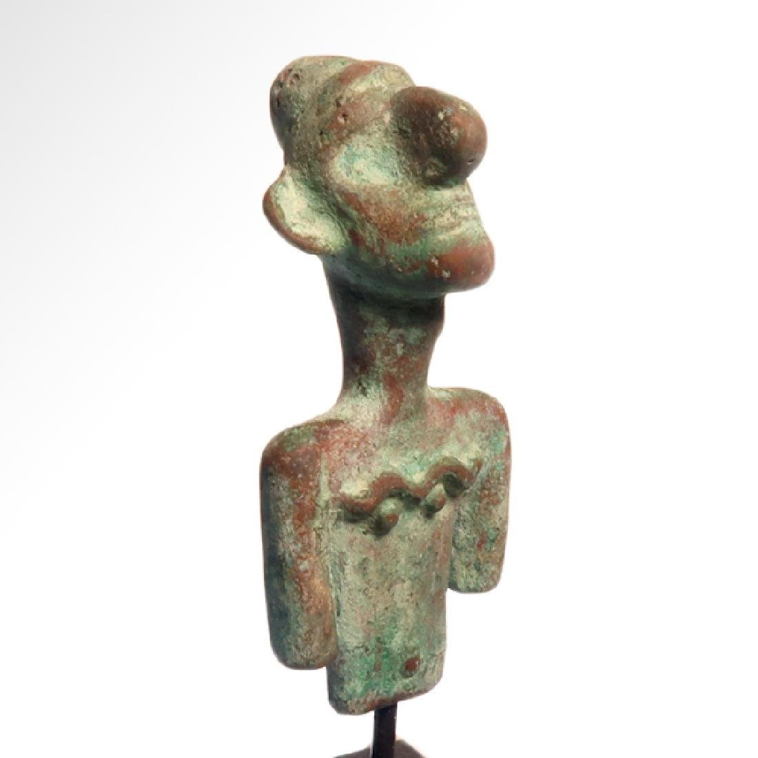 Canaanite Bust of a Deity, c. 2nd Millennium BC - 4