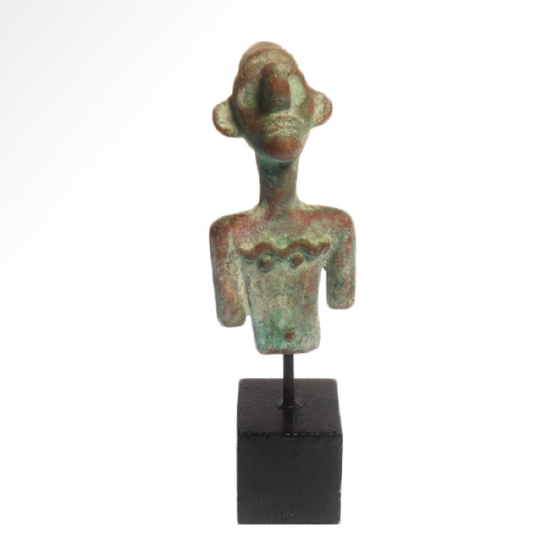 Canaanite Bust of a Deity, c. 2nd Millennium BC - 7