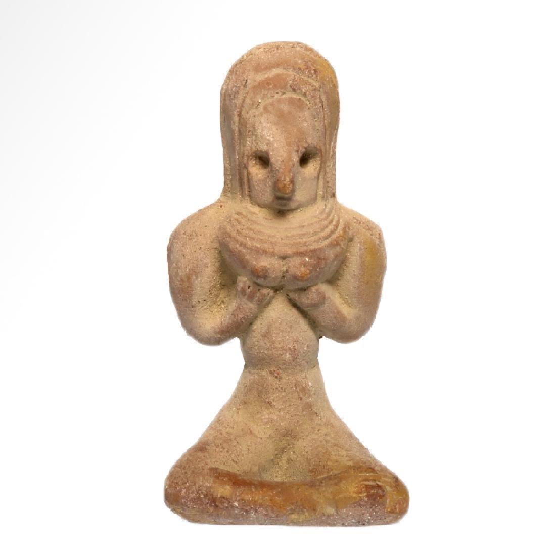 Indus-Valley Mother Goddess, Harappan, c. 2400 B.C.