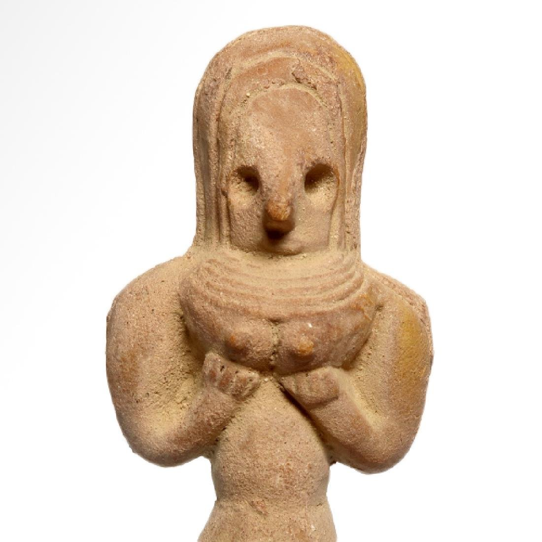 Indus-Valley Mother Goddess, Harappan, c. 2400 B.C. - 2