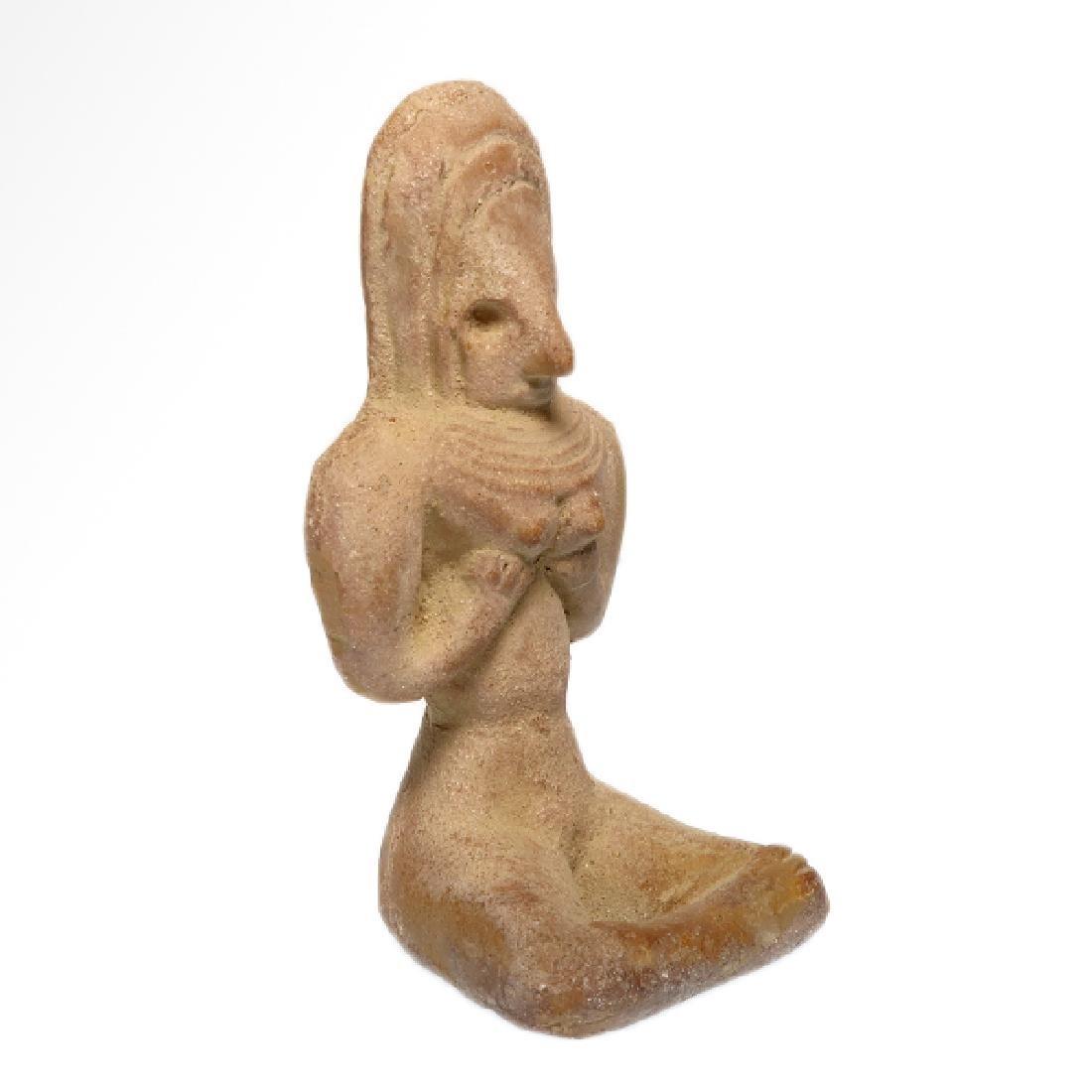 Indus-Valley Mother Goddess, Harappan, c. 2400 B.C. - 3