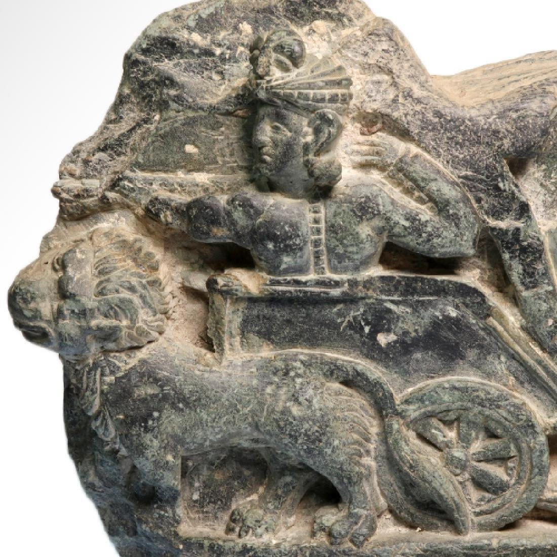 Large Gandhara Schist Relief with Bodhisattva, c. - 4