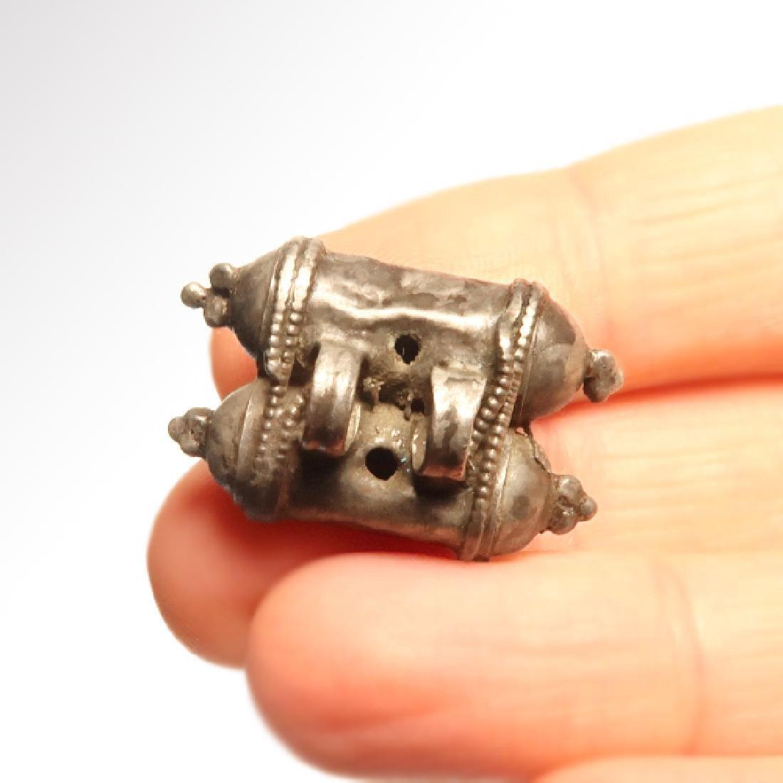 Roman Silver Pendant, Amulet/Talisman Holder, c. 2nd - 2