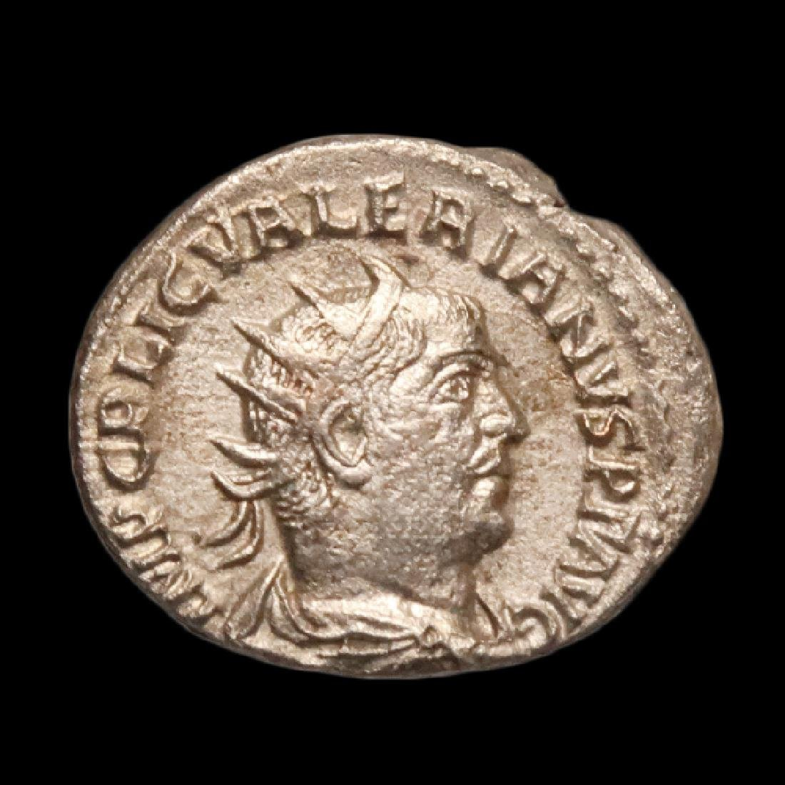 Emperor Valerian, Silver Denarius, Roman, c. 253-260