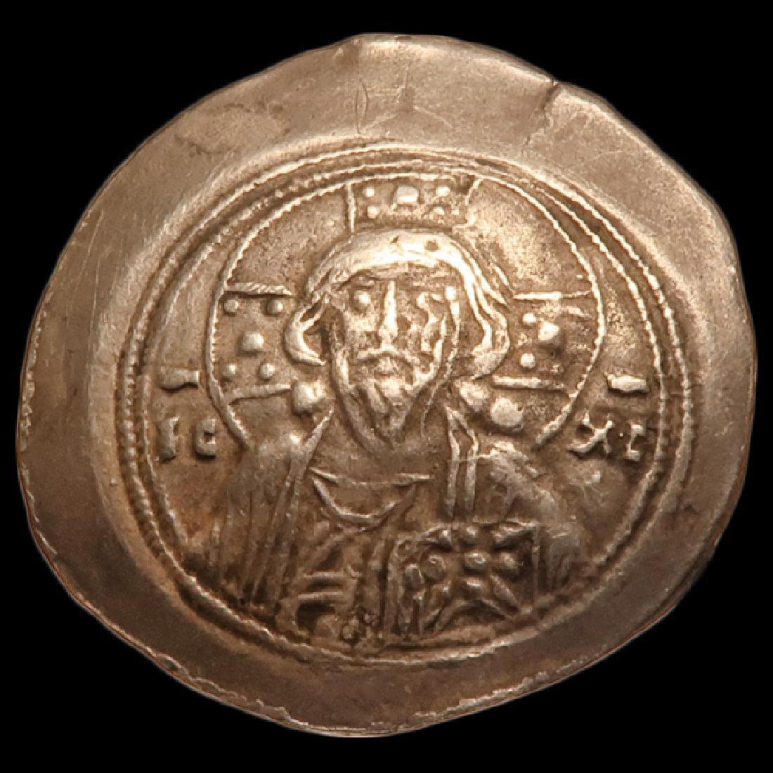 Byzantine Coin, Electrum Histamenon Nomisma  Michael