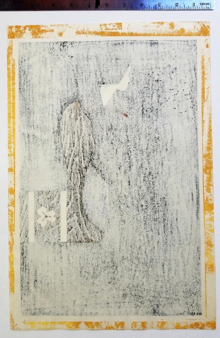 Kiyoshi Saito Woodblock Maiko - 2