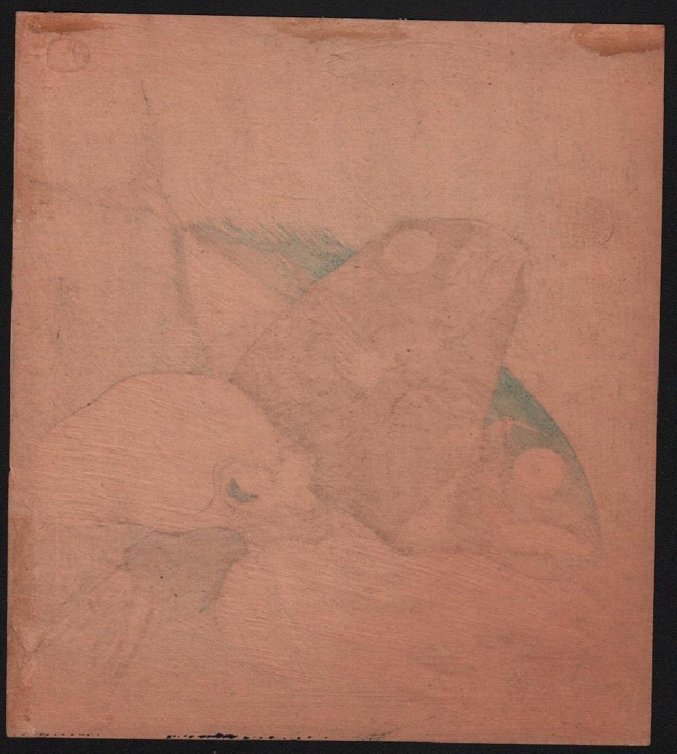 Setsuri Woodblock Octopus, Sea-Bream & Bonito - 2