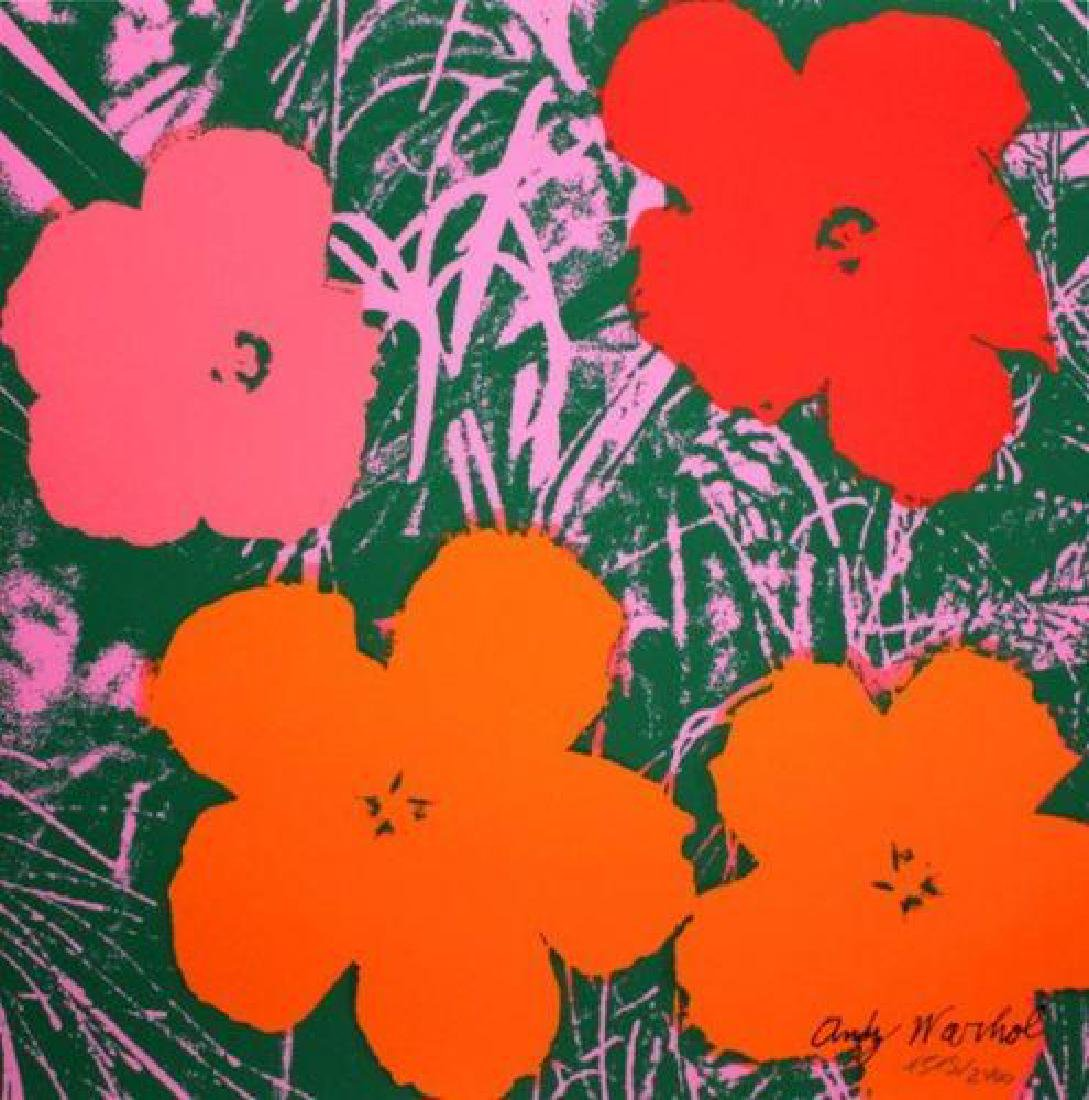 Andy Warhol (1928-1987) After Poppy Flowers