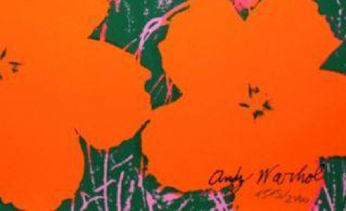 Andy Warhol (1928-1987) After Poppy Flowers - 2