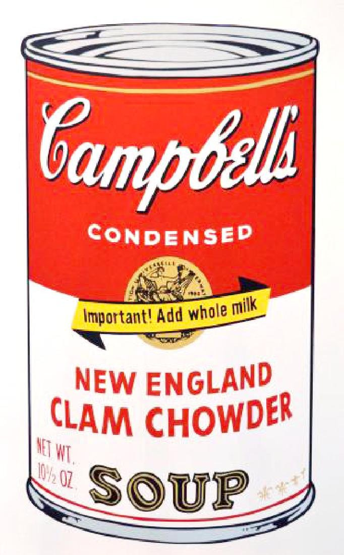 Andy Warhol New England Limited Edition