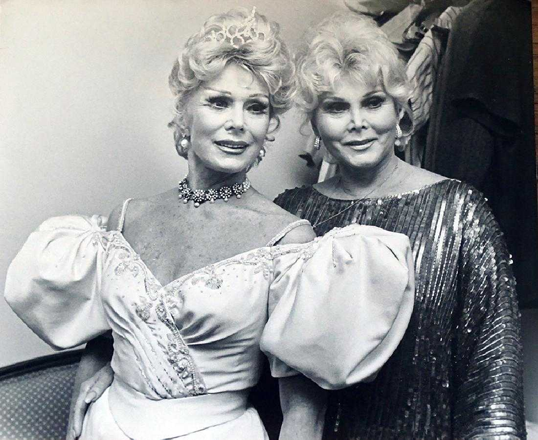 Zsa Zsa and Eva Gabor, Broadway, 1985 Scope Features