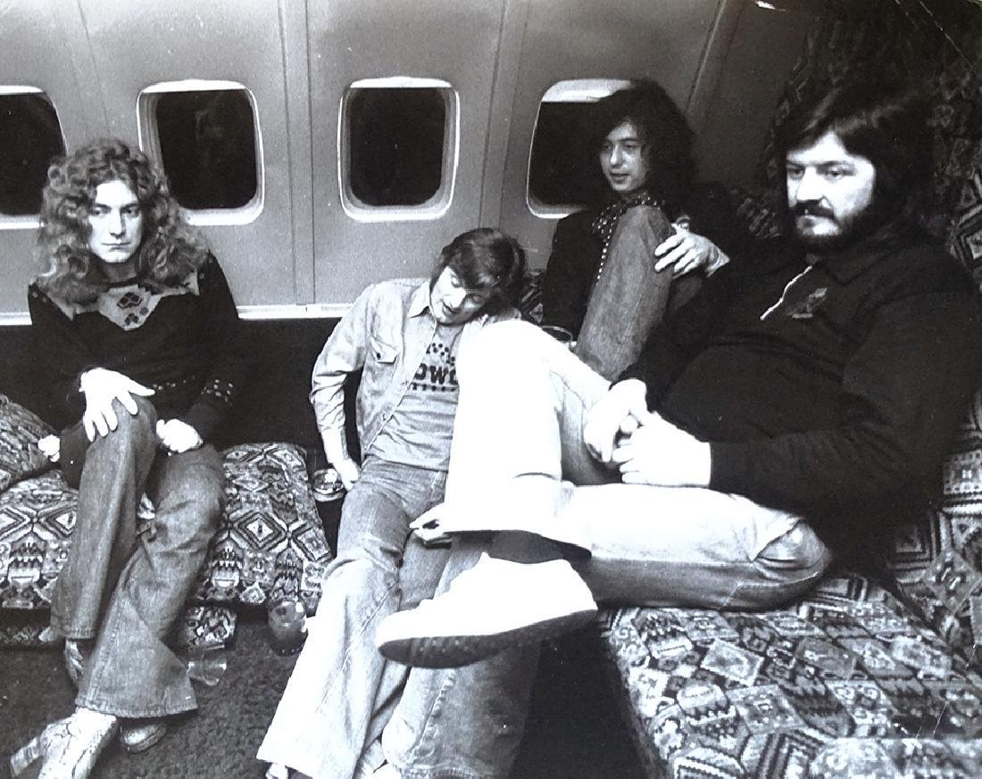 Led Zeppelin, 1975 Michael Brennan