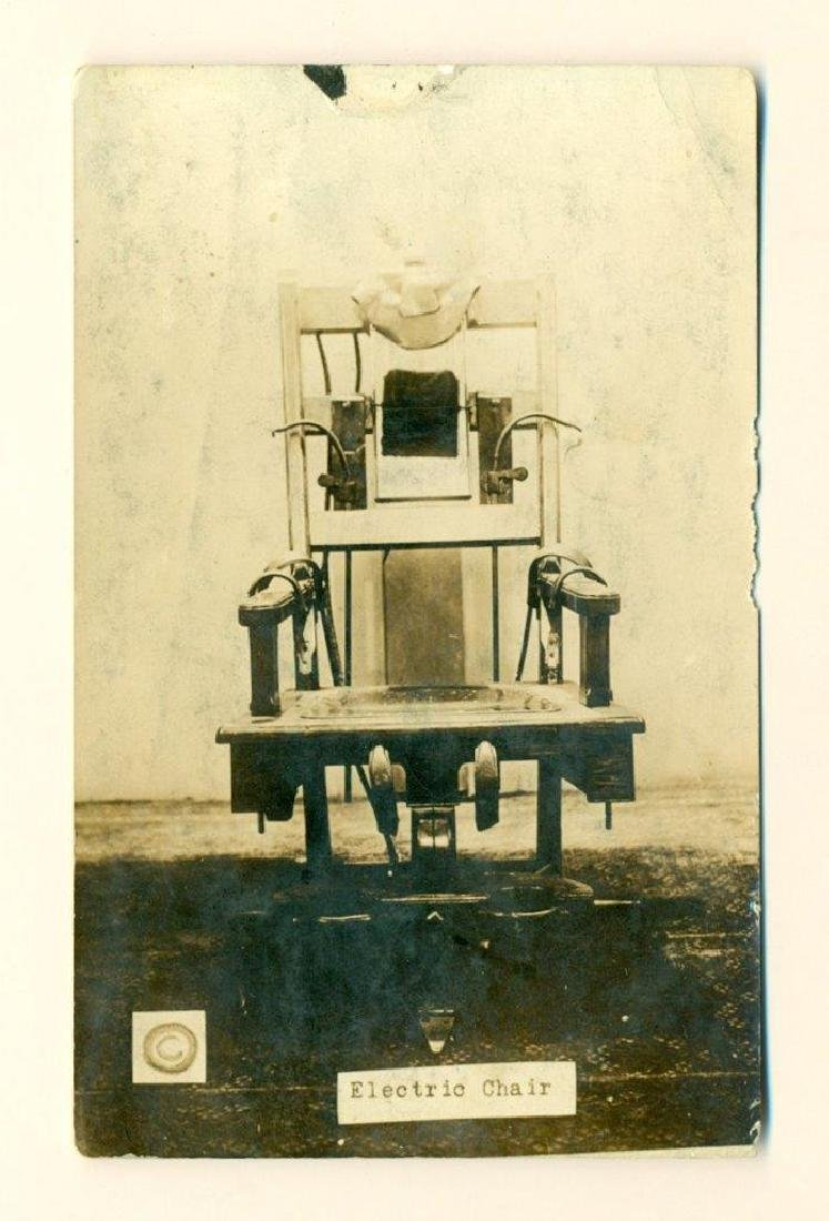 1920 Ohio State Reformatory Electric Chair Mansfield