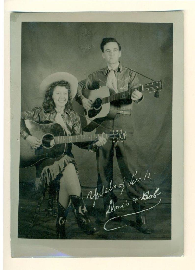 1950 Hillbilly Country Music Publicity Photo Yodel