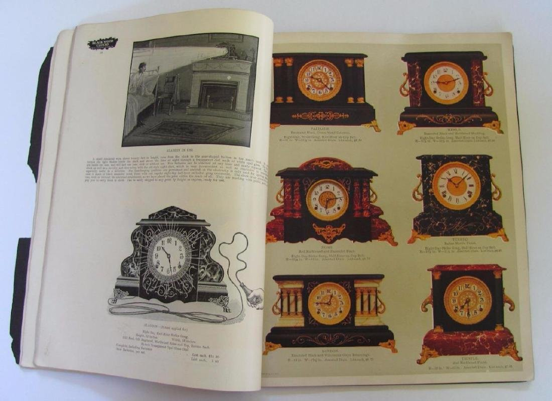 Old 1904 William L Gilbert Clock Co. Catalog Ny Winsted