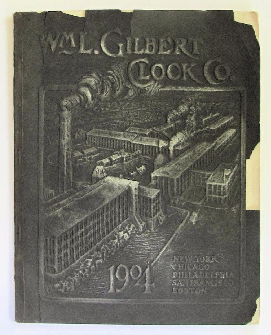 Old 1904 William L Gilbert Clock Co. Catalog Ny Winsted - 2