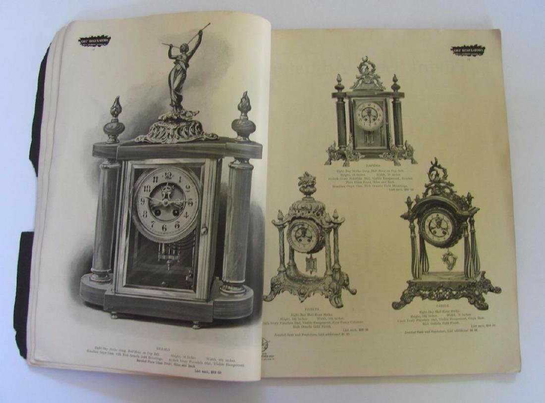 Old 1904 William L Gilbert Clock Co. Catalog Ny Winsted - 6