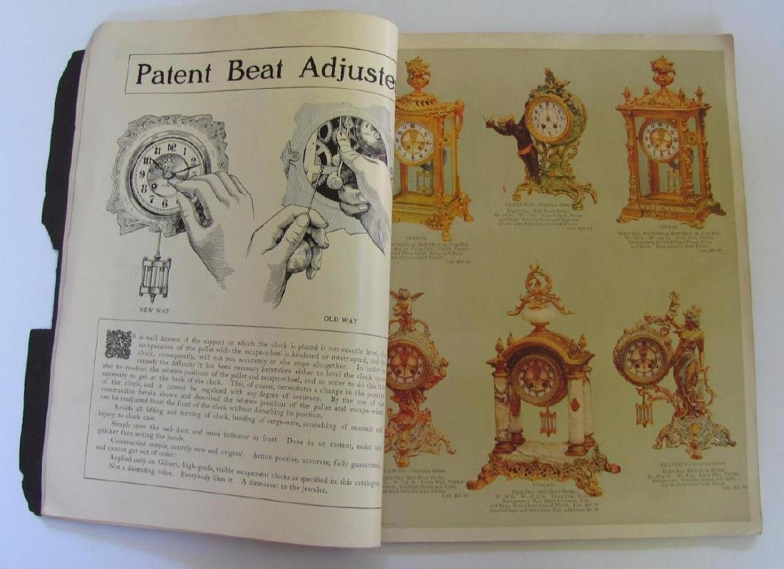 Old 1904 William L Gilbert Clock Co. Catalog Ny Winsted - 7