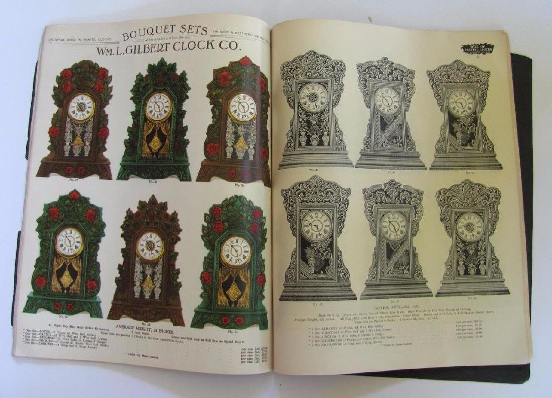 Old 1904 William L Gilbert Clock Co. Catalog Ny Winsted - 9