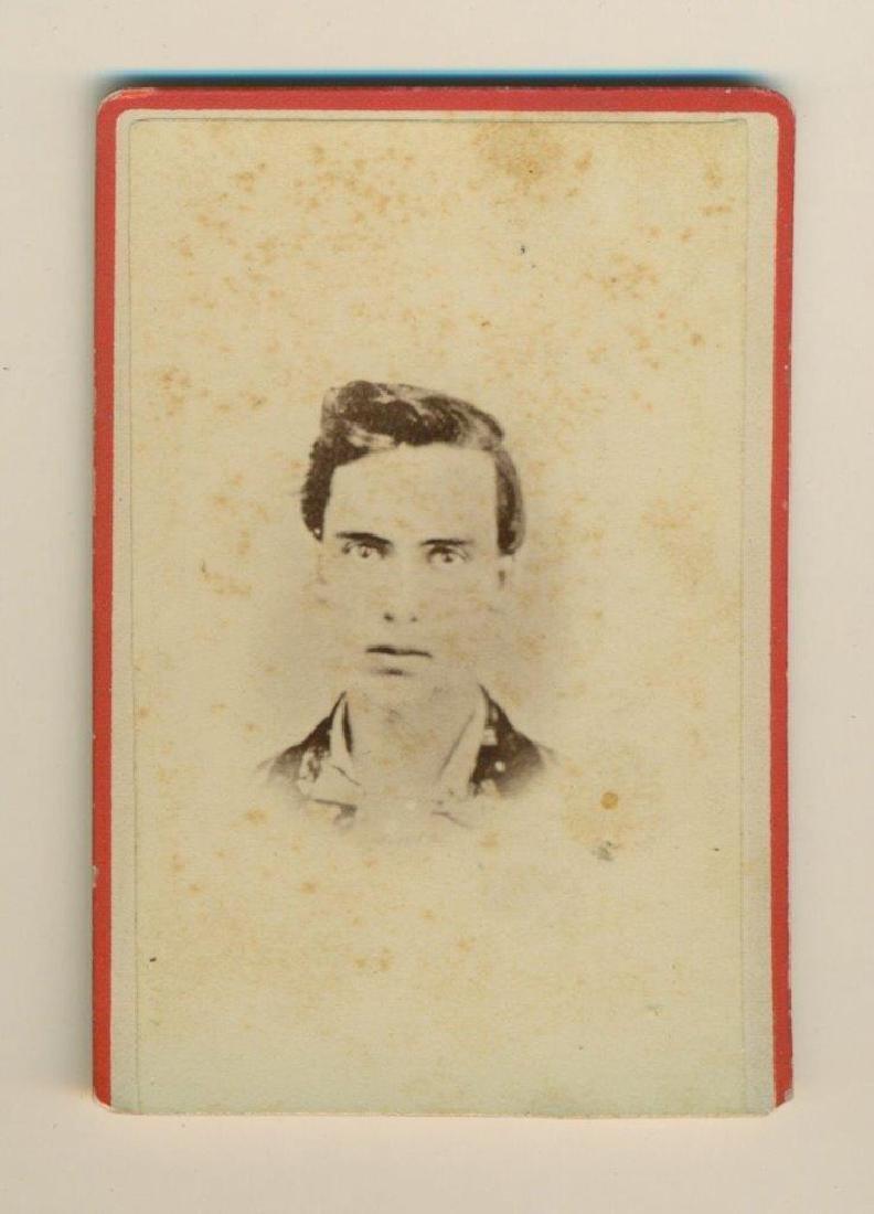 1860 S Civil War Soldier Id'd Mick Howard Killed Died