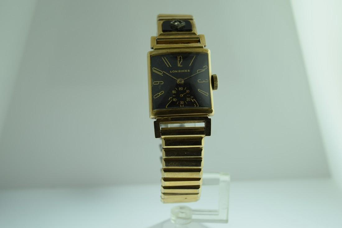 Vintage Longines 14K Solid Gold Watch, 1950