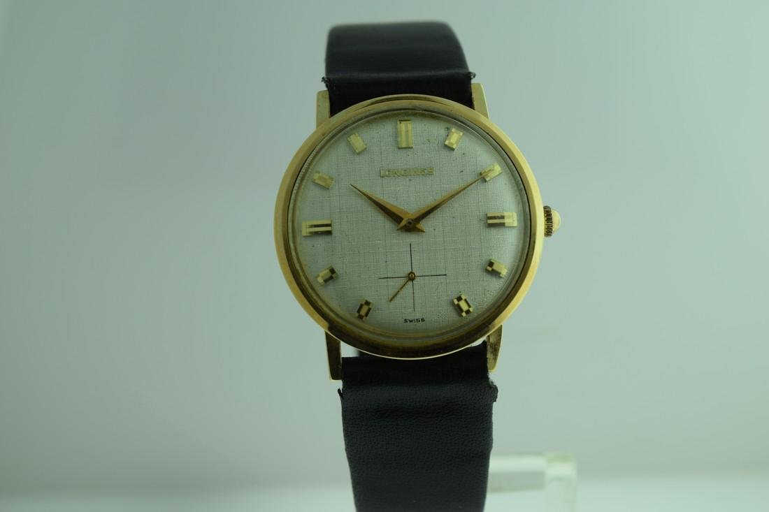 Vintage Longines 14K Solid Gold Watch, 1960s