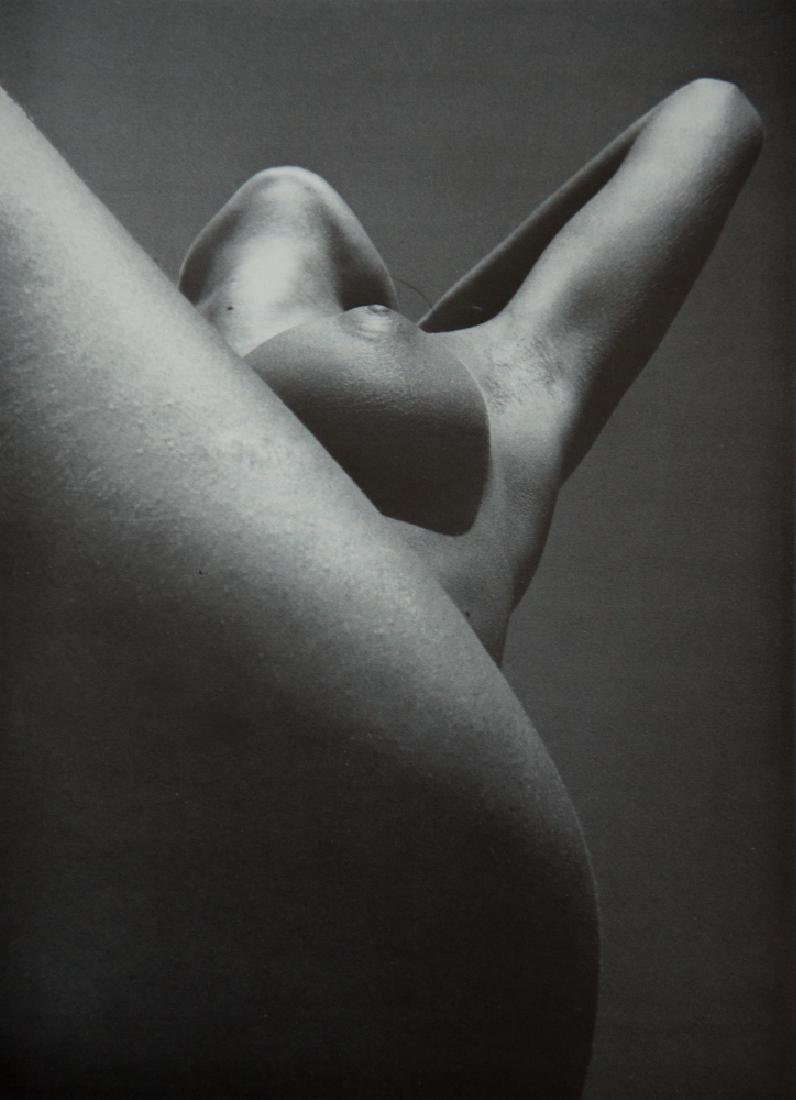 LUCIEN CLERGUE - Nude, Low Angle