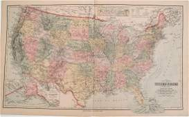 1880 Gray US Map -- Gray's New Map of the United States