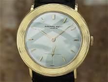 Audemars Piguet Solid 18k Gold Swiss Mens Manual Wind
