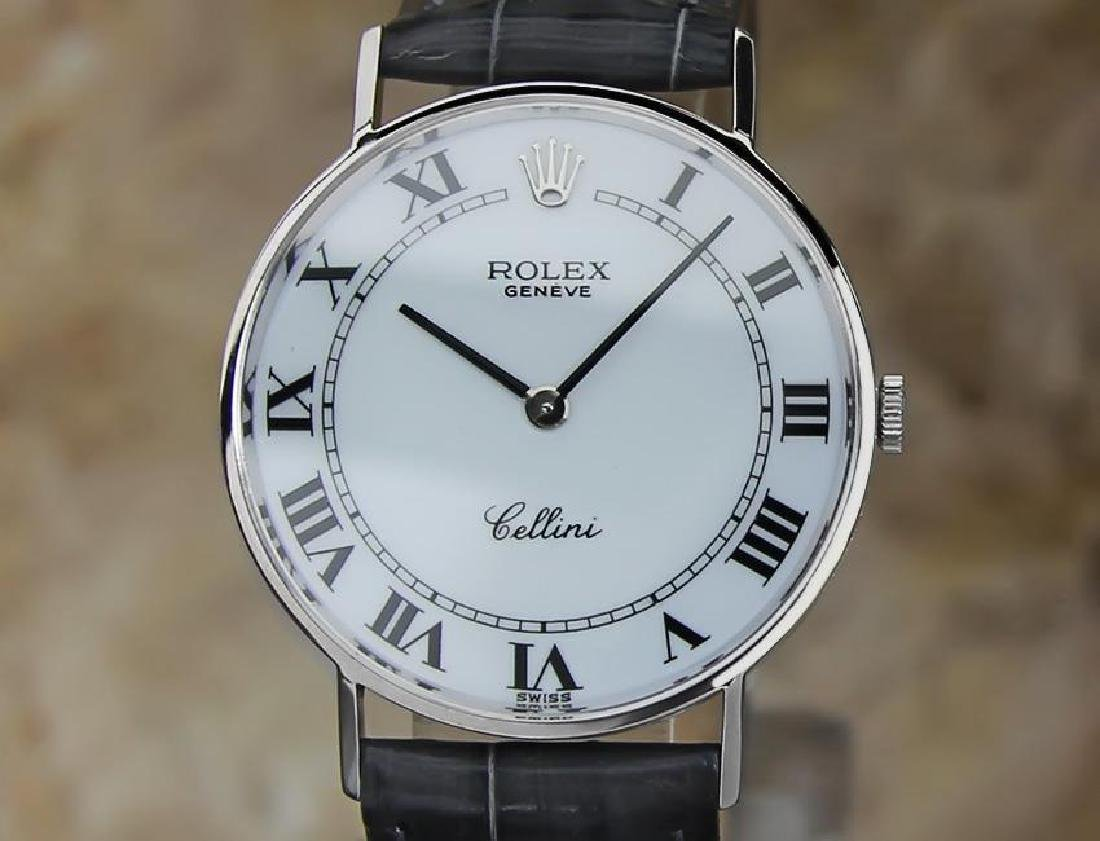 Rolex Cellini 18k Gold Swiss Made Men's 31mm Dress