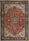 Antique Persian Fine Rug 13.6x19.4