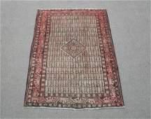 Hand Woven Vintage Persian Sarab Rug 4.2x6.6